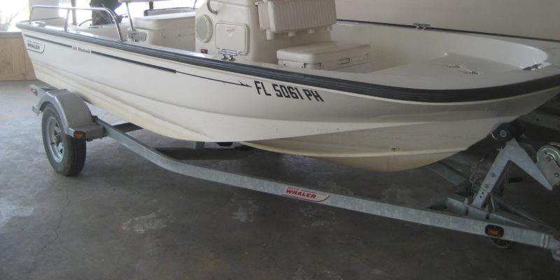 2012 Boston Whaler 15′ Montauk