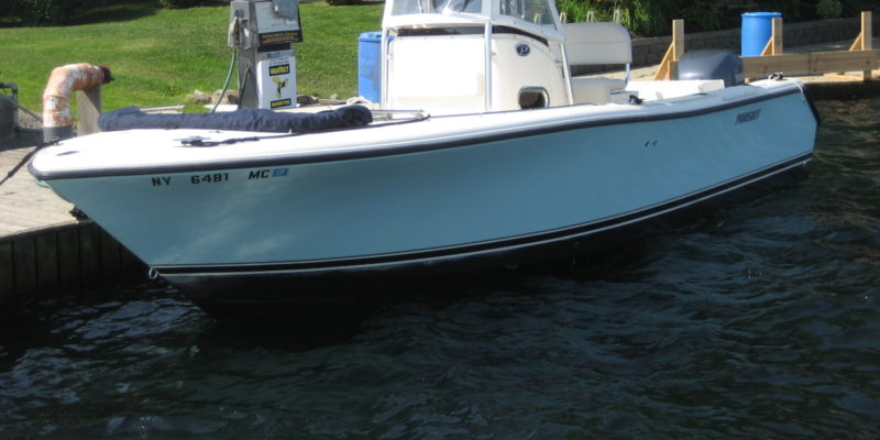 Just Arrived!  2006 Pursuit 2570 w/ Yamaha 250 HP 4-S