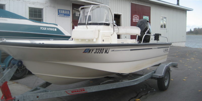 2008 Boston Whaler 150 Montauk Mercury 60 HP